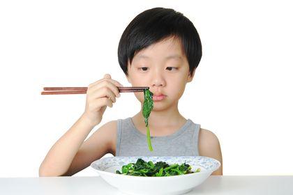 趁暑假 糾正孩子少菜飲食
