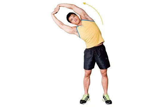 健身前的5個基本拉筋動作