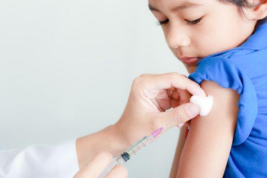 皮膚紅點不簡單 接種四痘疫苗免痛苦