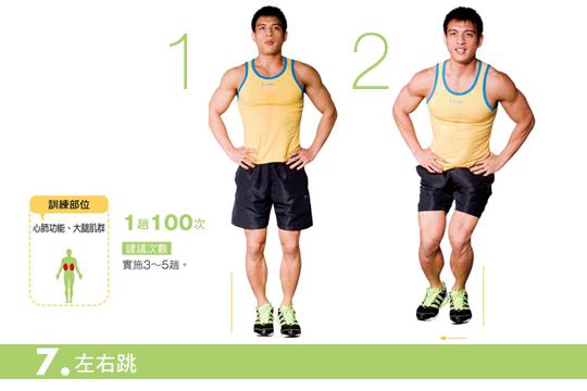 14種徒手增肌運動 幫你打造超Man體態
