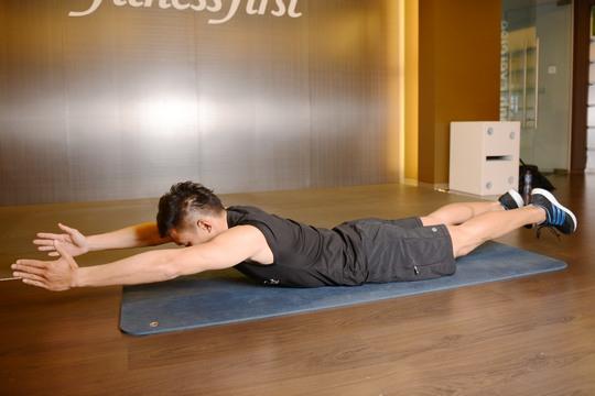 30分鐘完成6組運動 喚醒核心肌肉