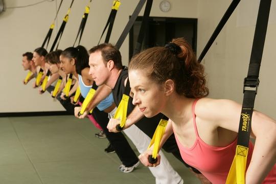 各大健身中心TRX訓練班