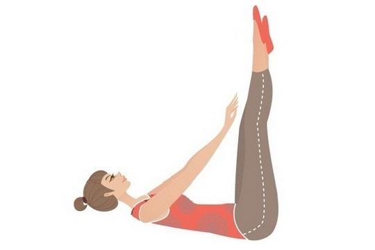 躺著瘦! 懶人必學4個美腿操