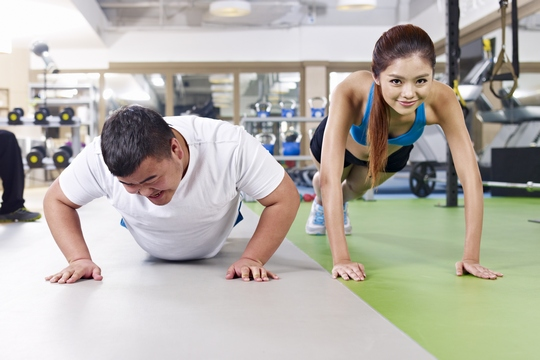 Couple Workout! 情人節甜蜜行動