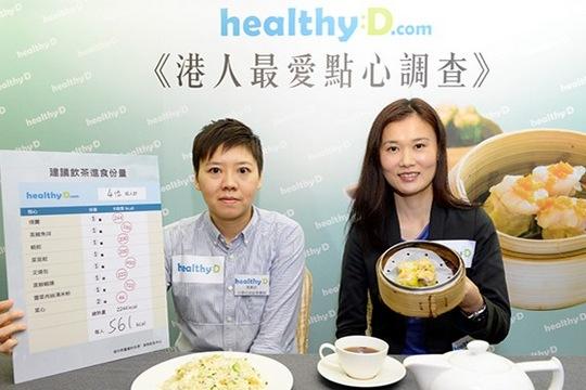 「一盅兩件」超肥! 飲茶要營食「點心紅綠燈」