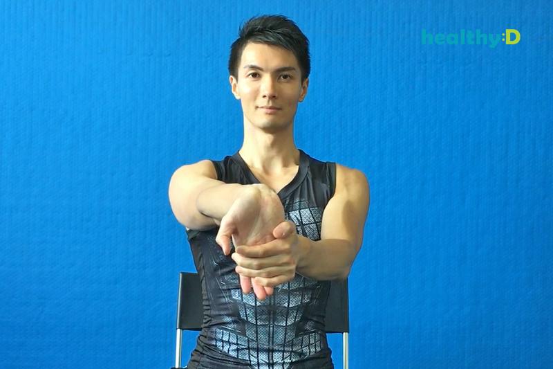 【有片】KO手腕痛(1):放鬆手臂肌肉