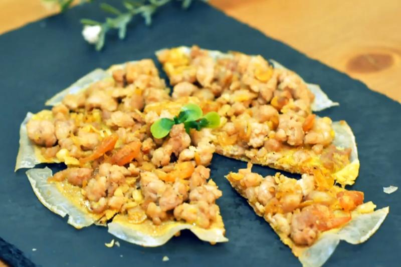 【有片】有營食譜:越式米紙Pizza