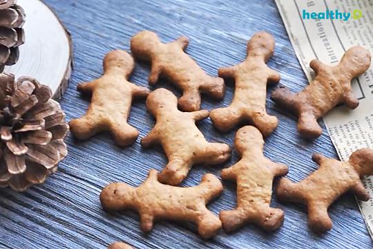 【有片】營養師教整低卡薑餅人