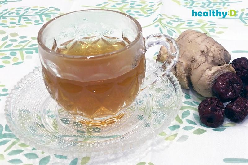 【有片】驅寒補血茶療:紅棗薑茶