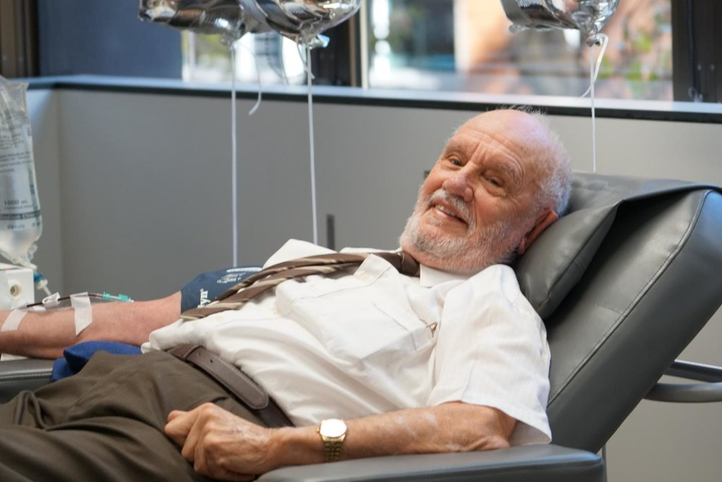 澳81歲老翁捐血60年救240萬嬰兒