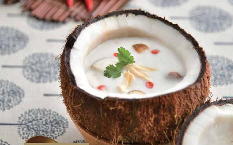 【自製低醣飲食】泰式椰子雞湯