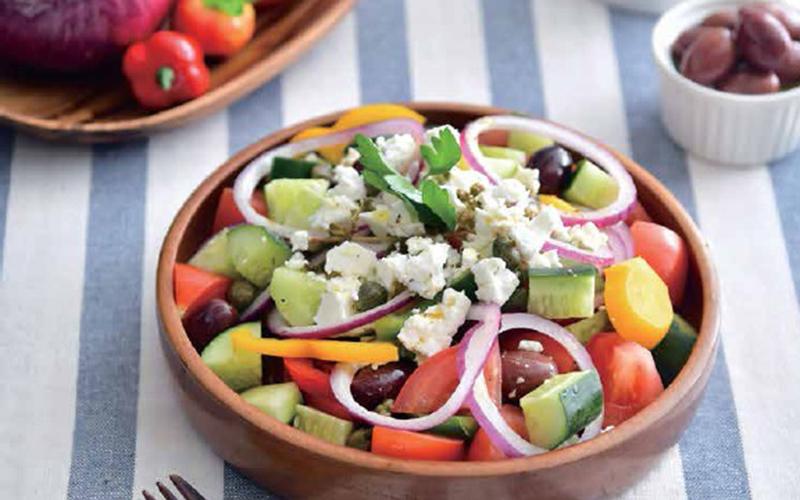 【自製低醣飲食】希臘沙律