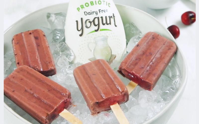【夏天健康食譜】朱古力車厘子無糖全植物乳酪雪條
