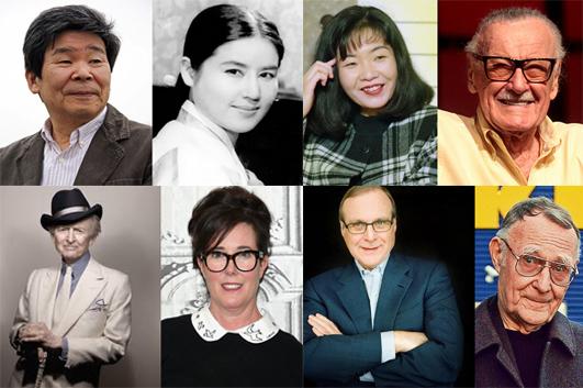 【2018年名人紀念特輯】回顧29個逝世國際風雲人物