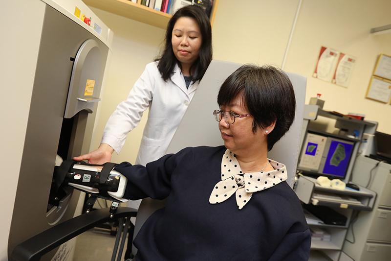 訂立首個華人指標 中大3D儀器助診斷骨質疏鬆