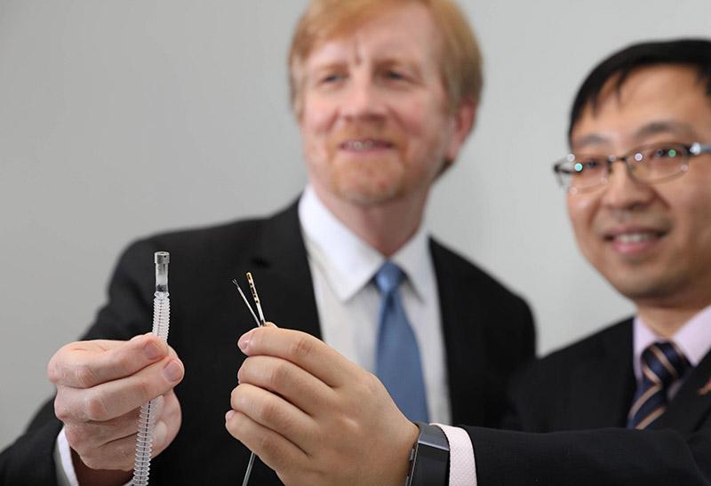 中大與3國際頂尖學府 成立醫療機械人技術中心