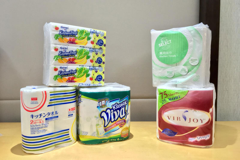 消委會:5款廚房紙含菌量超標達4倍 (附品牌比較列表)