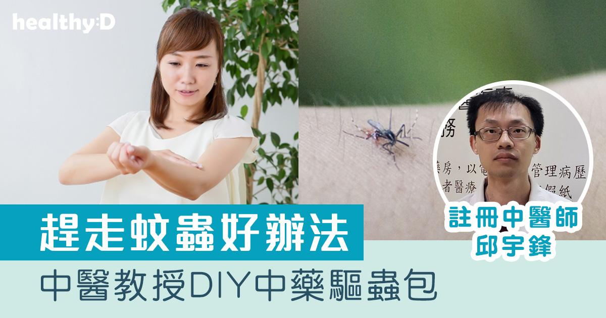 【趕走蚊蟲方法】中醫教路自製天然中藥驅蟲包