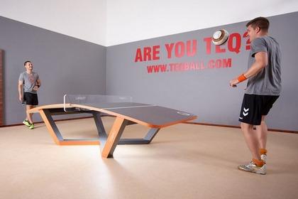 新興玩法 乒乓用腳踢?