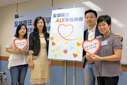 ALK肺癌易「上腦」  醫療費高昂  急需支援
