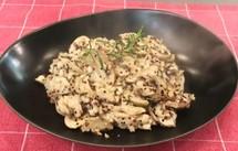 雜菌雞肉藜麥意大利飯
