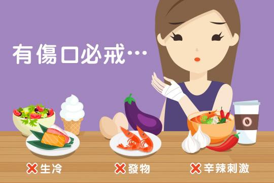 預防傷口發炎 | 手術後飲食:中醫提醒必須戒口的3類食物+加快傷口癒合的5種營養素