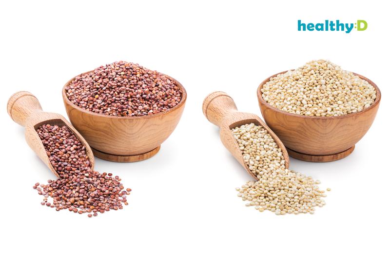 2款藜麥食譜|藜麥好處一覽|營養白、紅藜麥大不同