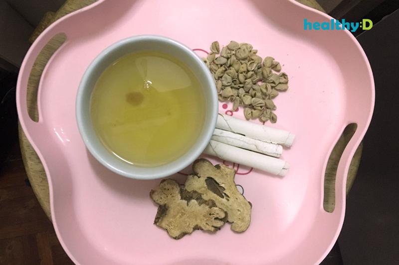 袪濕健脾:雲苓白朮扁豆衣茶