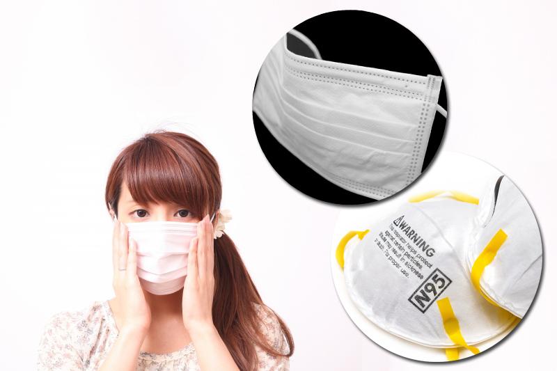 【新冠肺炎】外科口罩VS N95口罩比併
