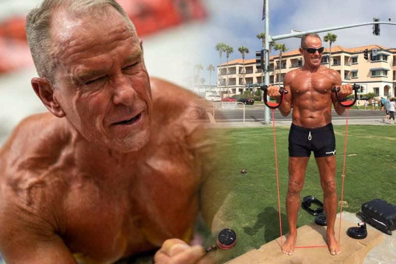 62歲退役老將 創下8小時平板支撐世界紀錄