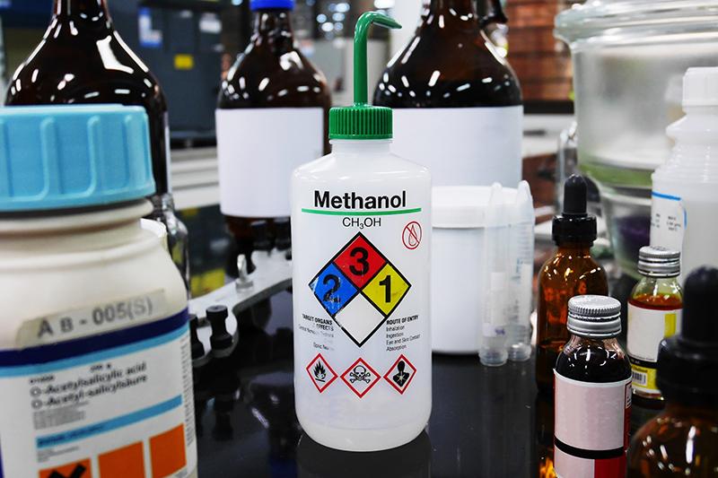 甲醇與乙醇大不同  胡亂使用可引致中毒