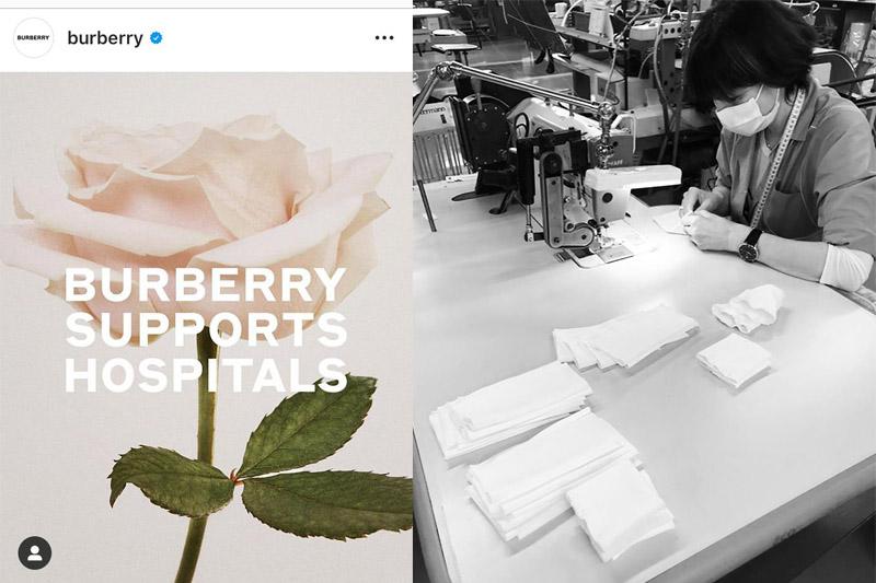 【齊心抗疫】Chanel Burberry ARMANI IKEA生產趕製口罩、防護衣