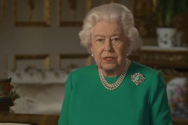 英女王發表全國特別講話 感謝醫護無私付出