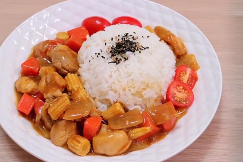【簡單食譜】跟營養師整低脂日式咖喱雞飯增強免疫力