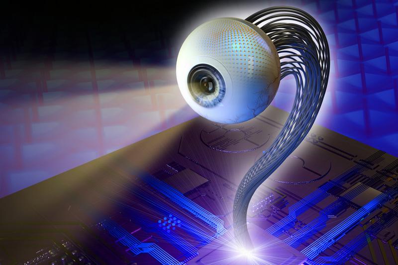 【全球首隻】科大研發三維視網膜仿生眼