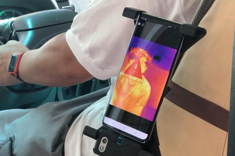 港大研發便攜熱像儀 有望用於巴士小巴測乘客體溫