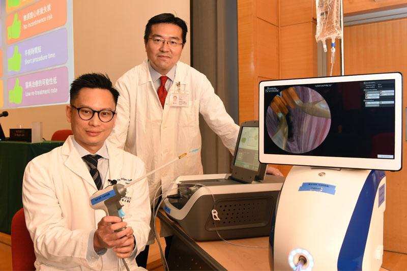 港大醫學院引入蒸氣熱力治療前列腺增生 術後可保射精能力