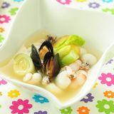 茴香菜海鮮湯