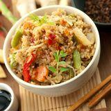 鮮茄海鮮焗糙米飯