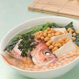 芥菜豆腐大眼雞湯