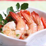 辣味鮮蝦沙律