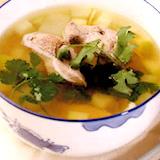 瓜粒豬膶湯