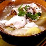 鯇魚片雪耳雪梨湯