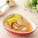 紅蘿蔔花旗蔘珍珠肉湯