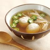雞肉丸金菇秋葵清湯