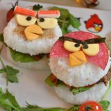 Angry Birds米漢堡