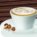 焦糖榛子奶泡咖啡