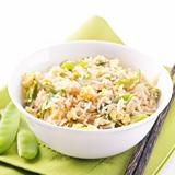 蟹肉雞絲菜粒炒飯