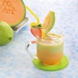 番石榴哈蜜瓜汁