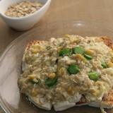 燕麥芥蘭肉碎蛋花煮豆腐